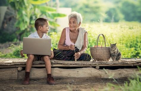 computer in famiglia