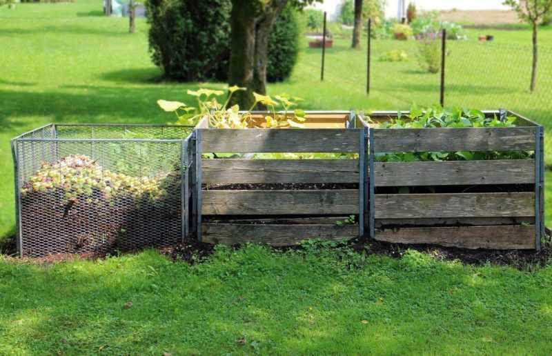 cumulo per il compostaggio