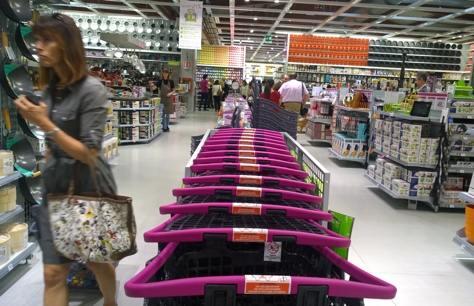 carrelli supermercato