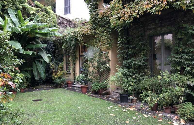 giardino con tante piante