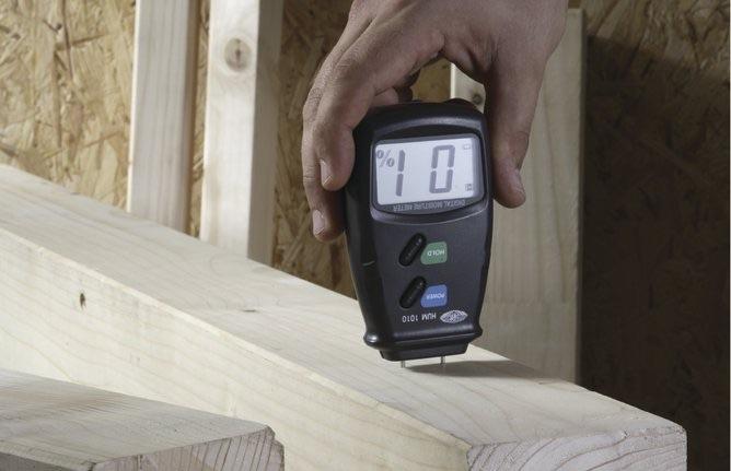 tester per umidità della legna