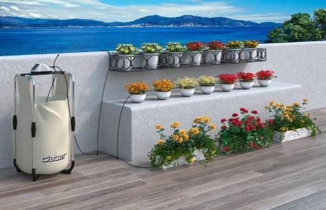 Irrigazione in terrazzo senza acqua con Claber | Bricoliamo