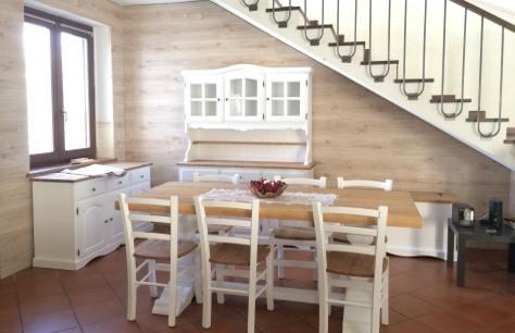 Rivestimento in legno di una parete sottoscala bricoliamo - Rivestimento tavolo ...