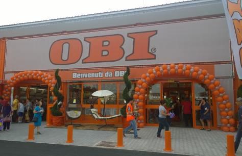 Obi illuminazione interna aperto a roma il negozio obi pi for Obi illuminazione