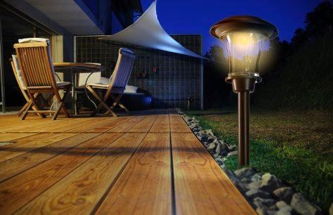 Il giardino di notte di nortene. luci outdoor bricoliamo