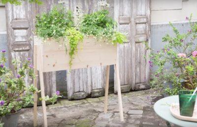 Costruire una fioriera in legno bricoliamo for Costruire fioriera legno