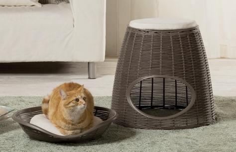 Una grande idea di cuccia per i tuoi gatti bricoliamo