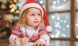 Letterina Natale bimba