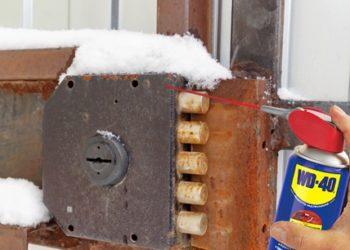 serratura bloccata