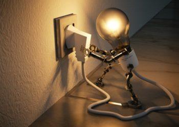 spina e lampadina