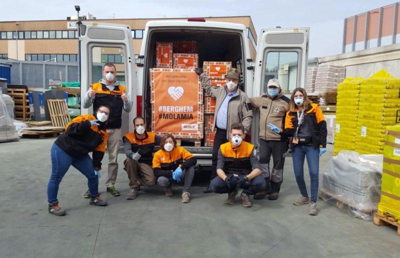 OBI dona 2500 mascherine agli Alpini