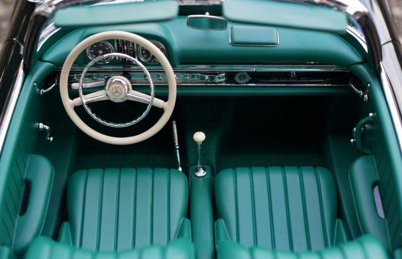 interni auto antica