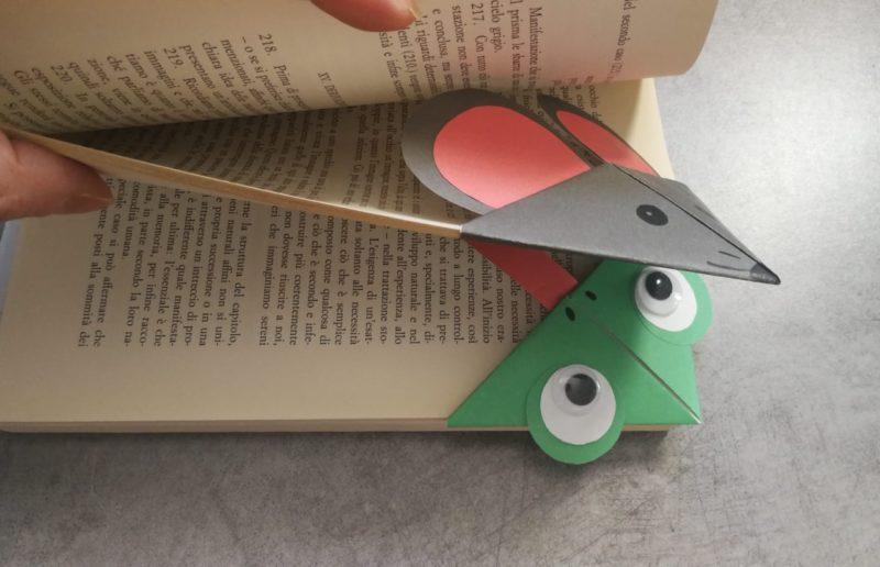 segnalibri con la tecnica origami