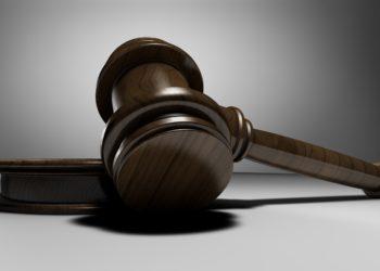 martelletto del giudice in tribunale