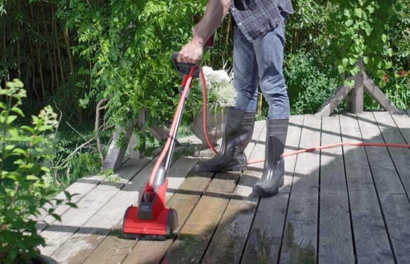 lavare pavimentazioni esterne
