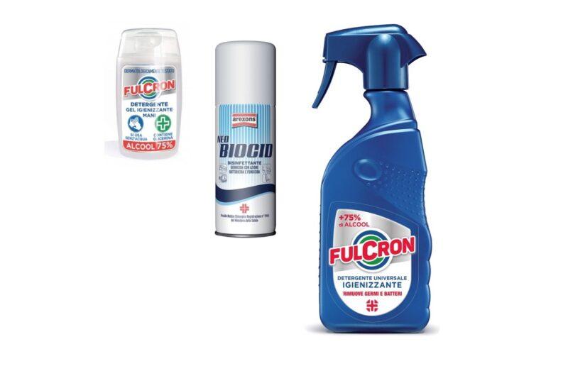 igienizzanti arexons