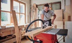 banco sega per lavorare il legno
