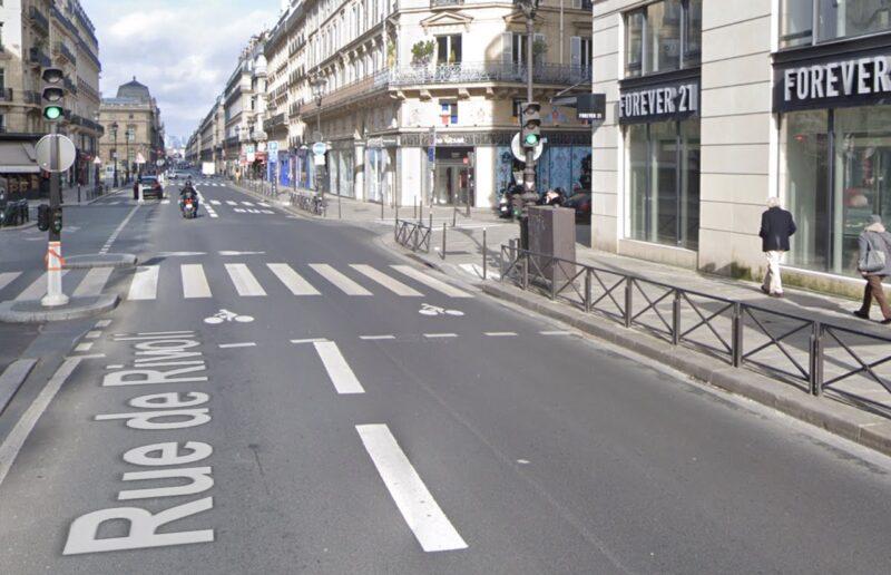 Paris Rue Rivoli