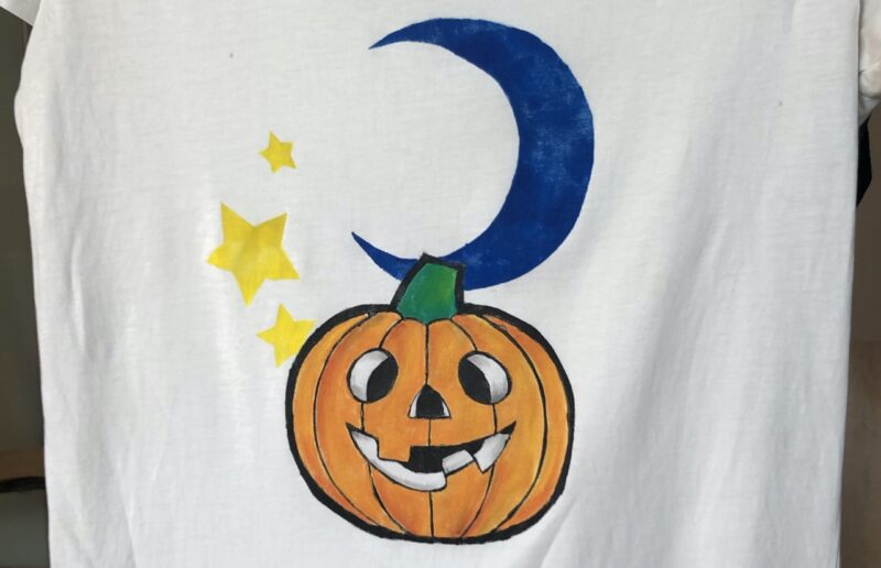 stencil della zucca di Halloween