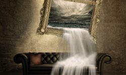 acqua sul divano