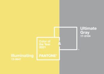 I colori del 2021: giallo e grigio