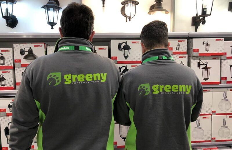 addetti del negozio Greeny