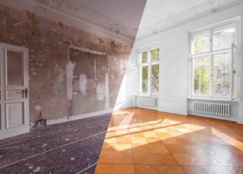 ristrutturare casa, prima e dopo