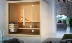 Sauna in bagno