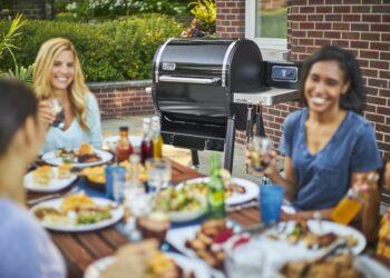 cucinare con il barbecue a pellet