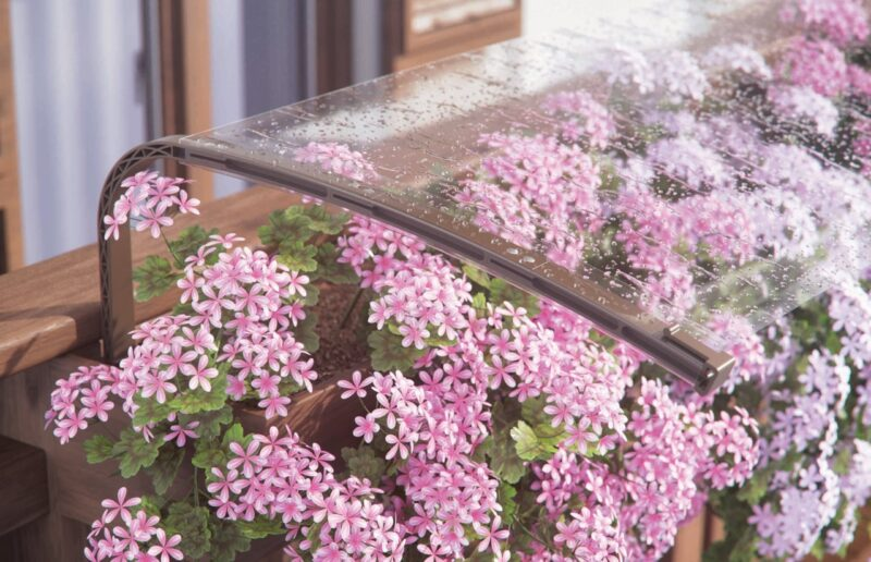 copertura fiori contro la grandine