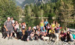 gruppo vacanze con cani