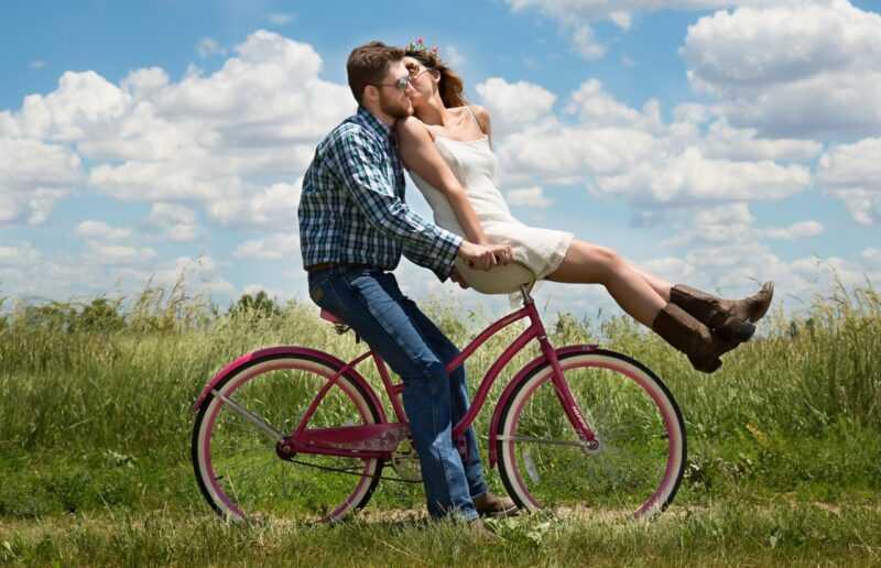 ragazzi in bicicletta
