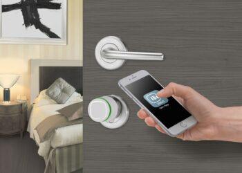 aprire la porta con lo smartphone