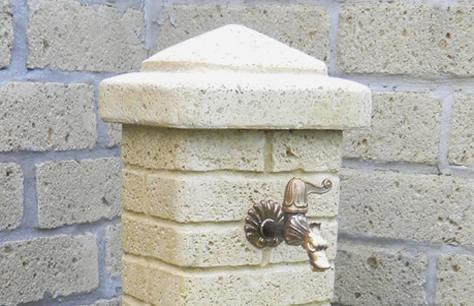 La fontana da parete bonfante bricoliamo - Accessori per fontane da giardino ...
