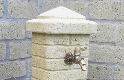 Fontana Giardino Pietra : La fontana da parete bonfante bricoliamo