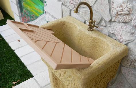Un lavello comodo e facile da montare bricoliamo - Lavandino da esterno ...