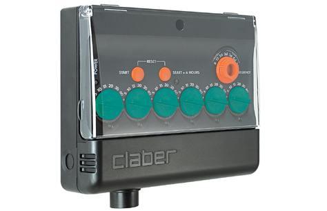 Con multipla di claber l 39 irrigazione interrata non e 39 mai for Programmatore irrigazione a batteria claber