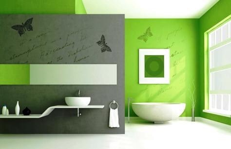 Decorare le pareti con mascherine e grafiche bricoliamo - Dipingere casa colori di moda ...