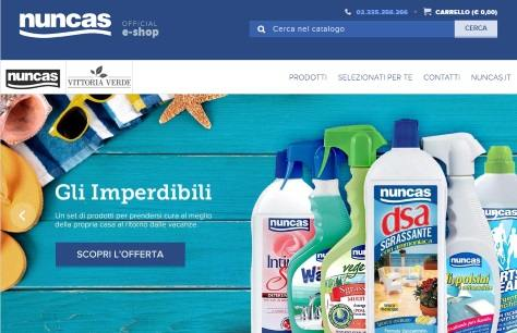 Lo shop on line di nuncas tutto per la pulizia della casa for Shop on line casa