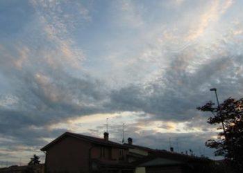 cielo prima del temporale