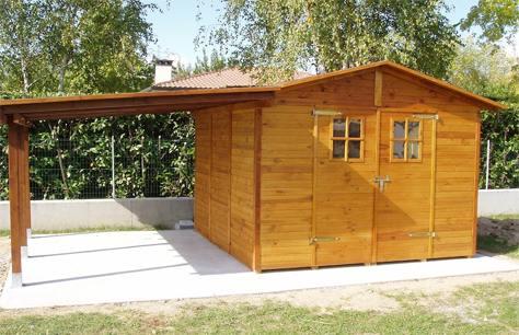 Cherubin casette in legno massello di pino bricoliamo for Kit caminetto per portico
