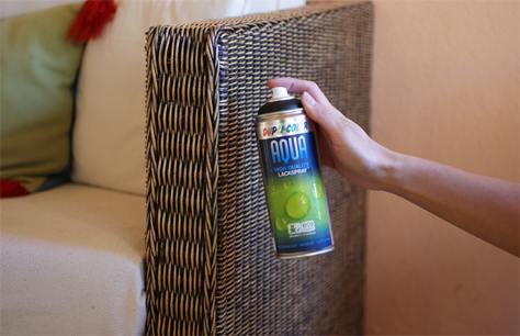 Vernice spray ecologica e sicura. Aqua non è tossica e sa di Vaniglia ...