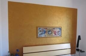 Decorare le pareti la pittura disordinata bricoliamo - Effetti decorativi pittura ...