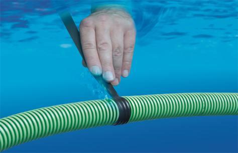 Come riparare un tubo il nastro adesivo che sigilla for Tubo in pvc per acqua calda