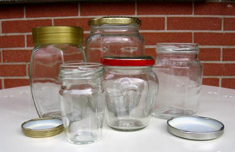 Come pulire i vasetti di vetro dalla colla delle etichette - Decorare vasi di vetro ...