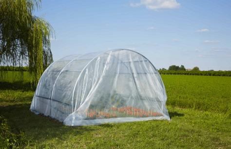 Serre per orto modulari e professionali da verdemax for Archi per serre da orto