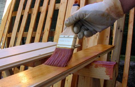 Pulire il legno, verniciare il legno, trattare il legno  Bricoliamo