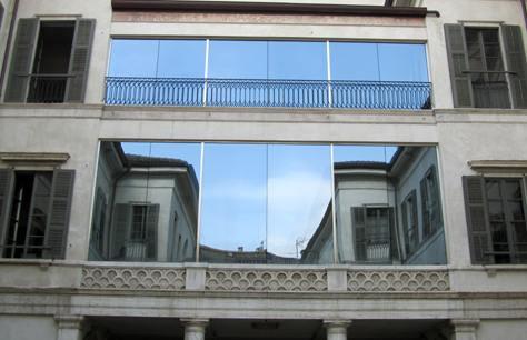Come pulire i vetri di finestre e box doccia bricoliamo - Pulizia vetri finestre ...